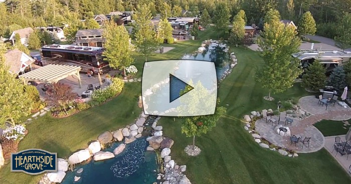 Stunning HD Video Of Hearthside Grove Luxury Motorcoach Resort!