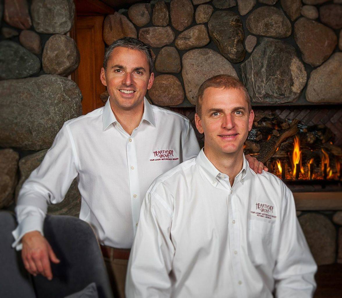 Your Hosts at Hearthside Grove - Luxury Motorcoach Resort