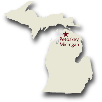Where is Petoskey Michigan