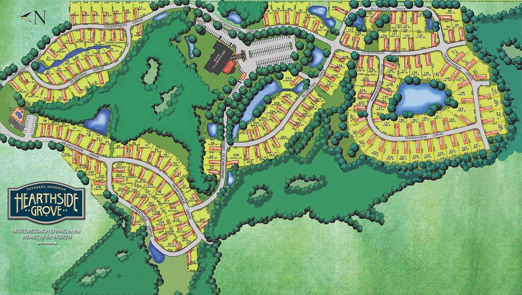 SiteMap - Luxury rv lots for sale