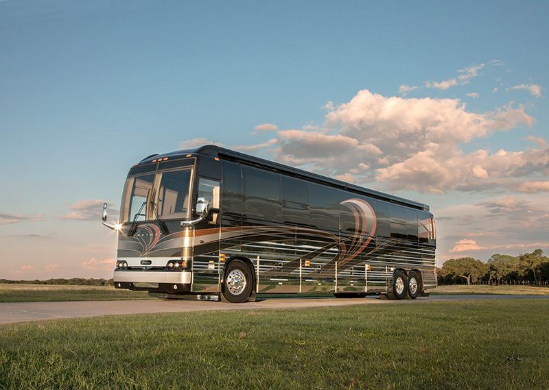Come get a Sneak Peek at 2016's Luxury Motorcoaches