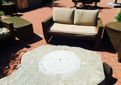 Hearthside Grove Lot 254 Fire Pit & Patio