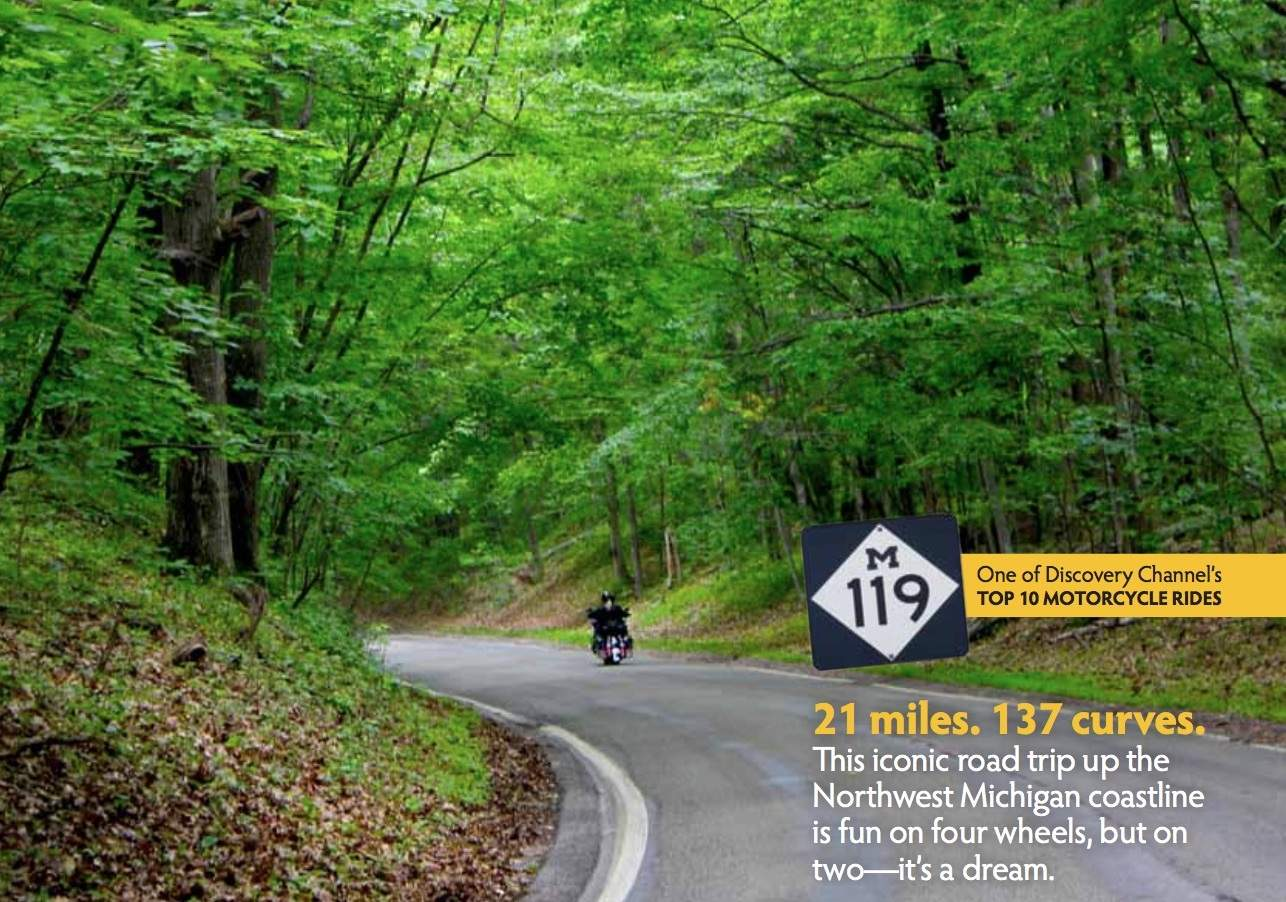 Two-Wheel Touring in the Tunnel of Trees - Hearthside Grove