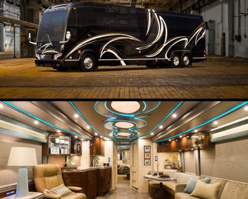 Have You Ever Thought Of Renting A Luxury Motorcoach?